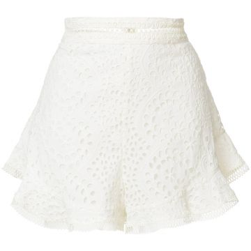 Short com renda Zimmermann
