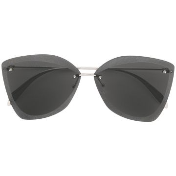 Sculpted sunglasses Alexander Mcqueen Eyewear