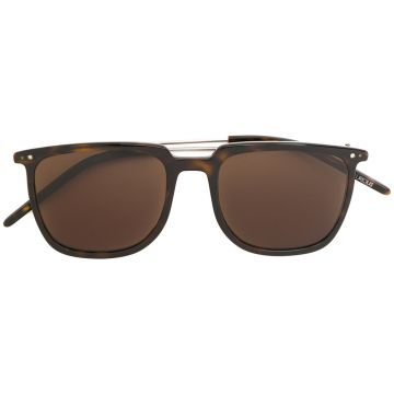square-frame tinted sunglasses Delirious