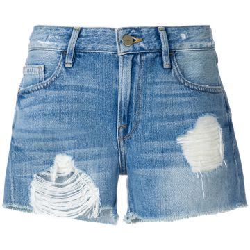distressed short Frame Denim