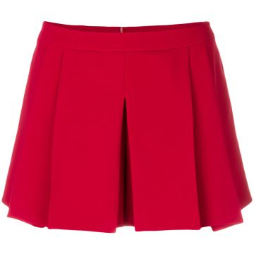 pleated short Red Valentino
