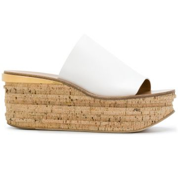 Camille wedge mules Chloé