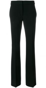 high waisted flared trousers Moschino