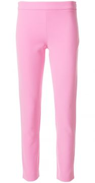 high waisted crop trousers Moschino