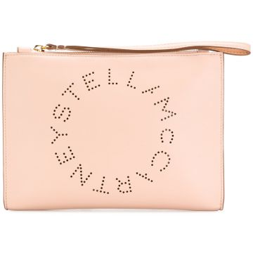 Clutch com logo Stella McCartney