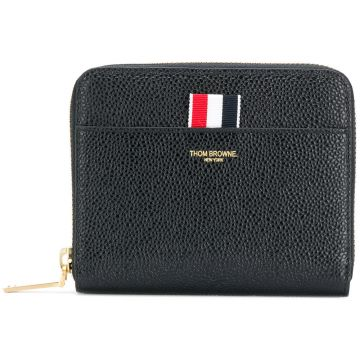 short zipped purse Thom Browne