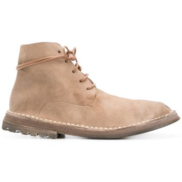 Curved Lace-up Boots - Marsèll