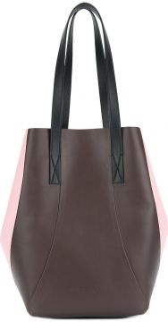 Colour Blocked Tote Bag - Marni