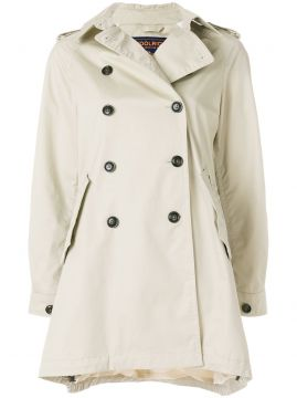 Short Trench Coat - Woolrich