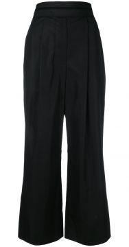 Deconstructed Cropped Trousers - Alexander Wang