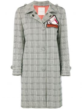 Trench Coat prince Of Wales - Marco De Vincenzo