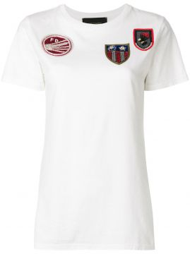 T-shirt Com Patches Frontais - Mr & Mrs Italy