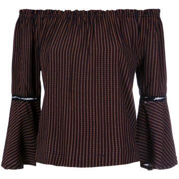 Blusa Ombro A Ombro - Pop Up Store