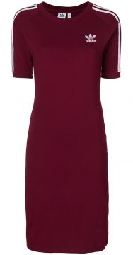 Fitted T-shirt Dress - Adidas