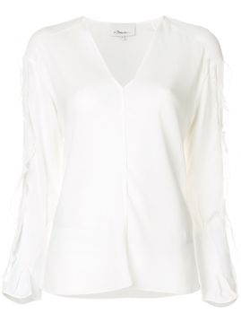 Frill And Lace Trim Blouse - 3.1 Phillip Lim