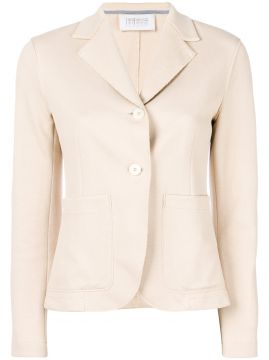 Casual Button Blazer - Harris Wharf London