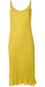 Ribbed Knit Slip Dress - Marni