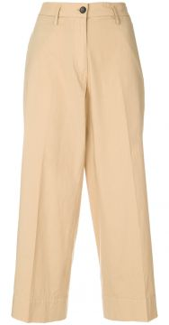 Flared Cropped Trousers - Barena