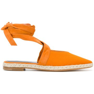Lace-up Espadrille Flats - Jw Anderson