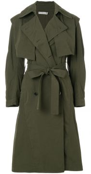 Oversized Trench Coat - Vince