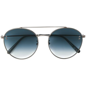 Tinted Aviator Sunglasses - Stella Mccartney Eyewear