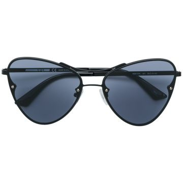 Oversized Tinted Sunglasses - Mcq By Alexander Mcqueen Eyewe