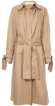 Classic Belted Trench Coat - Tiko Paksa