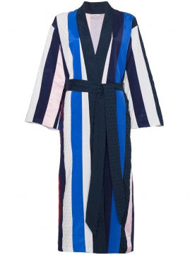 Striped Midi Robe - Natasha Zinko