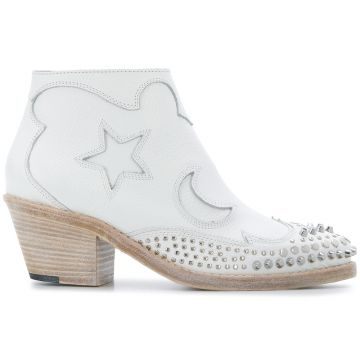 Solstice Studded Ankle Boots - Mcq Alexander Mcqueen