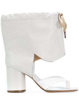 Drawstring Ankle Sandals - Maison Margiela