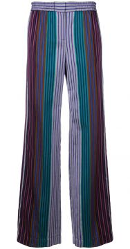 Calça Pantalona Listrada - Ps By Paul Smith