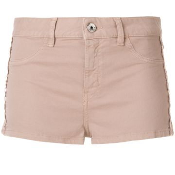 Short Com Detalhe De Renda - Just Cavalli