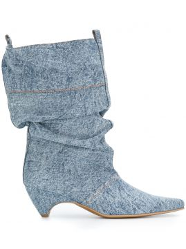 Denim Boots - Stella Mccartney