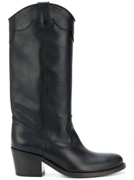 Mid-calf Length Boots - Via Roma 15
