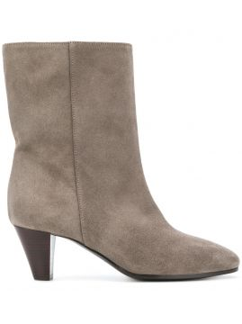 Mid-calf Length Booties - Via Roma 15