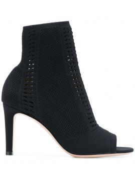 Open Toe Sock Boots  - Gianvito Rossi