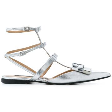 High Ankle Strapped Sandals  - Sergio Rossi