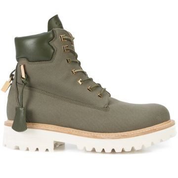 Canvas Site Boots - Buscemi