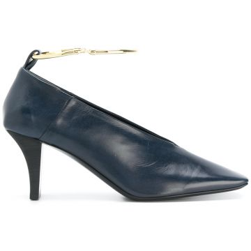 Ankle Embellished Pumps  - Jil Sander