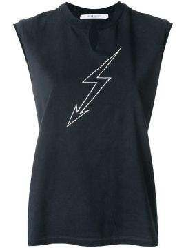 Lightning Print Sleeveless Top  - Givenchy