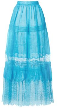 High-waisted Tulle Skirt - Ermanno Scervino
