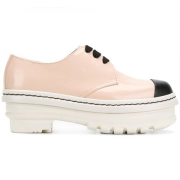 Flatform Oxford Shoes - Marni