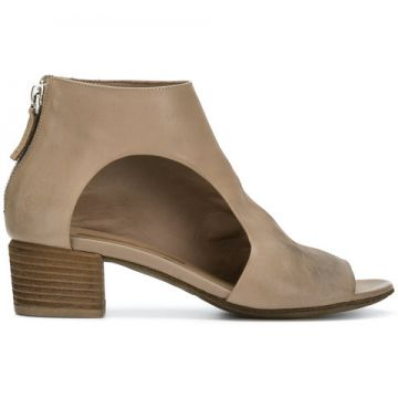Cut-out Side Ankle Boots - Marsèll