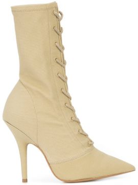 Lace Up Heeled Boots - Yeezy