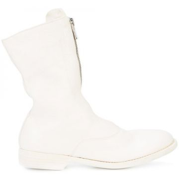 Front Zip Boots - Guidi