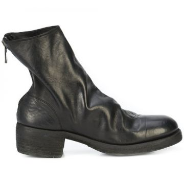 Rear Zip Boots - Guidi