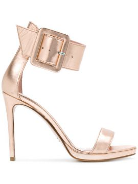 Wide Ankle Strap Sandals - Anna F.