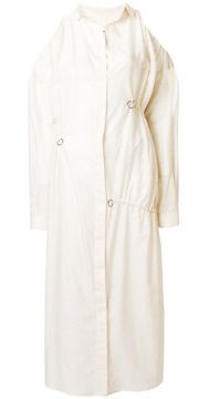 Ruched Shirt Dress - Damir Doma
