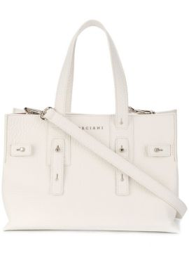 Buckled Logo Tote - Orciani