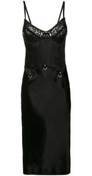 Lace Slip Dress - Mcq Alexander Mcqueen